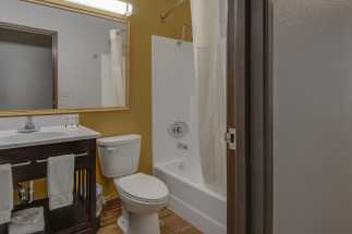 Vagabond Inn Executive Hayward - Vagabond Inn Executive - Guest Bathroom