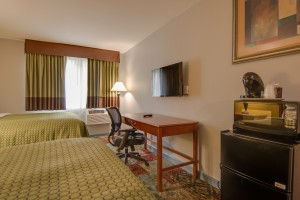 Vagabond Inn Executive Hayward - All rooms feature microwave and fridge