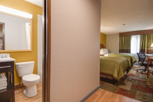 Vagabond Inn Executive Hayward - All rooms feature private bathrooms with tub and shower